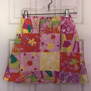 Girls Colorful Lily Pulitzer Skirt